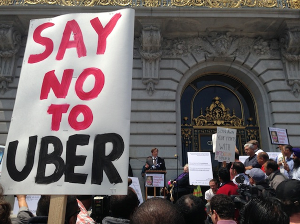 California State Legislature Trying To Kill Off Uber & Lyft