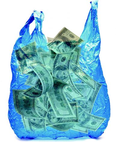 Plastic bag ban could mean sacks of cash for grocers