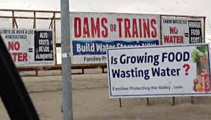 High Speed Rail Or Water Storage Programs?