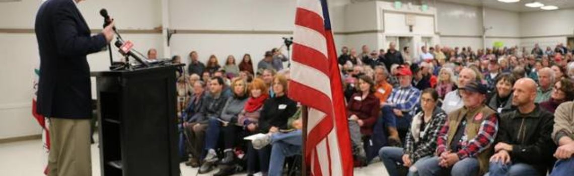 Republican Congressman Doesn't Back Down From Holding Town Hall Meetings