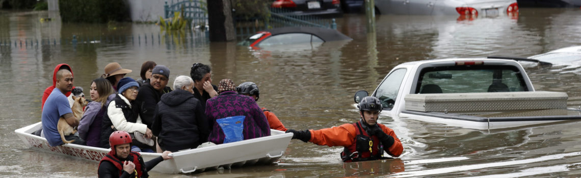 Floods Impact Communities in San Jose – Some Trapped in Trees