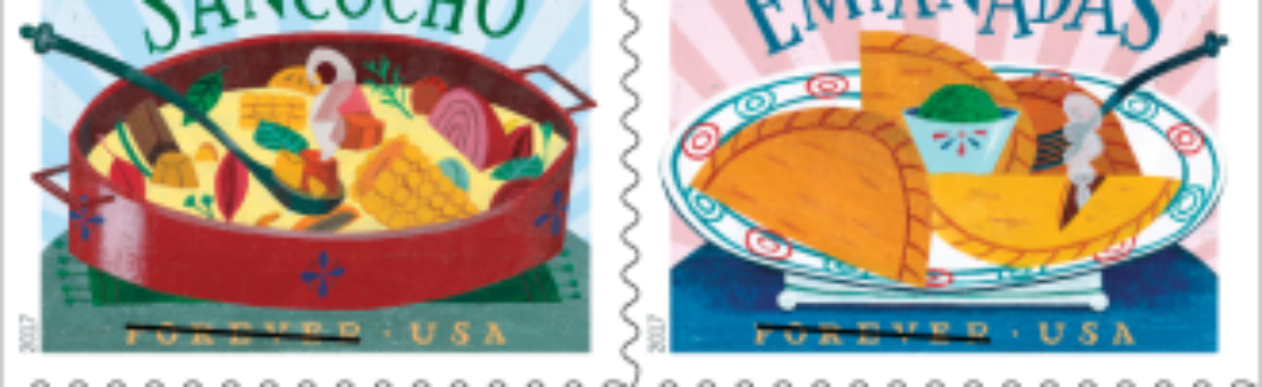 USPS adds Latino Cuisine to its Stamps