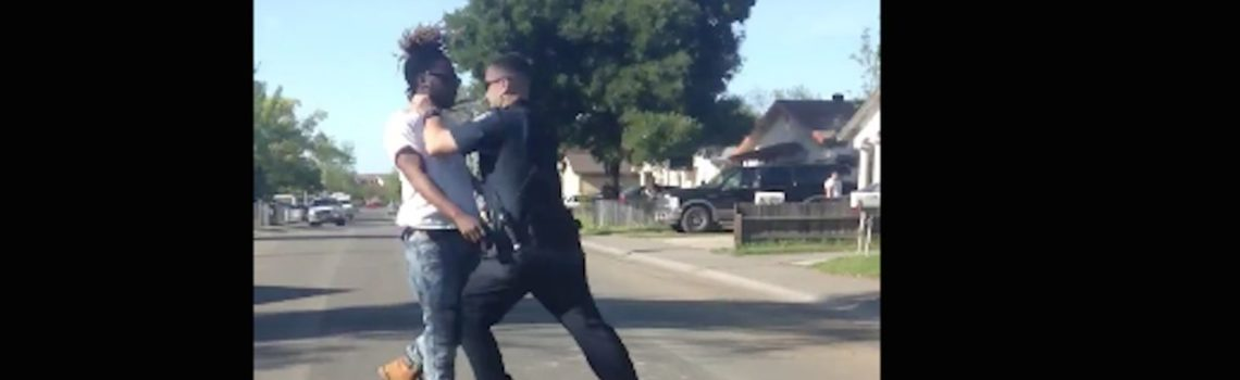 Sacramento Man Punched by Police Officer for 'Illegally' Jaywalking