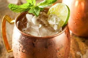 Beware of Drinking Moscow Mules from Copper Mugs