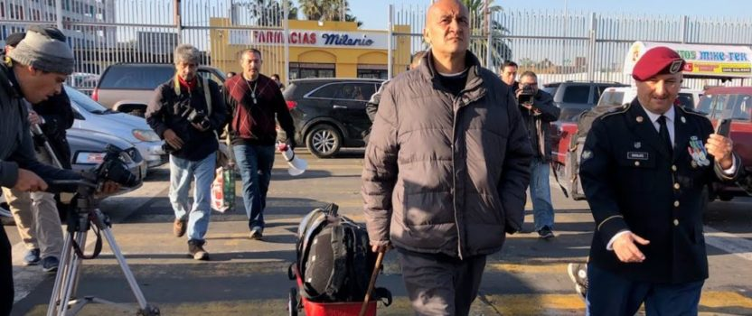 Governor's Pardon allows Deported Veteran to Return to the United States