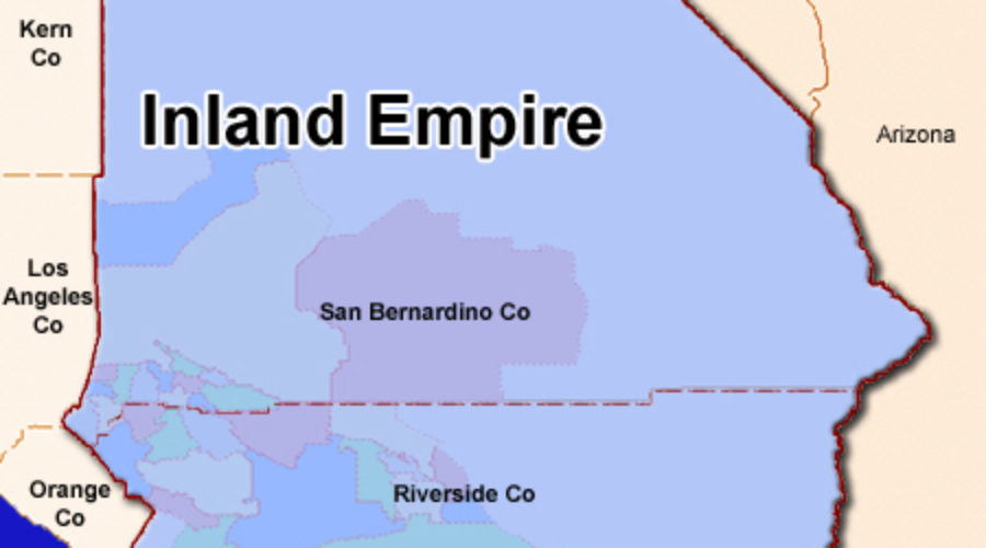 It turns out that the Inland Empire has more job Growth than the Silicon Valley