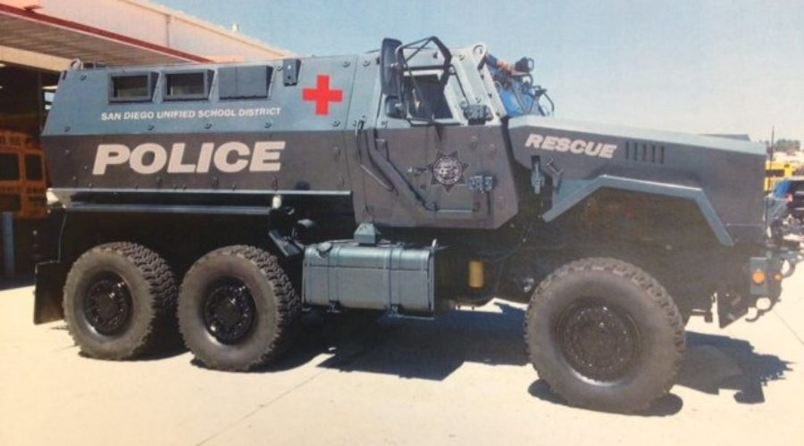 Lawmakers Trying to make it Harder for Local Police to buy Military-Grade Equipment