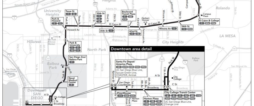 San Diego's Expensive Mid-City Bus Rapid Transit Route is Slower than Previous Route