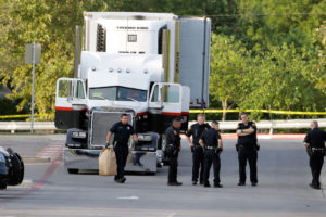 Tractor Trailer Packed with 39 people found in San Antonio